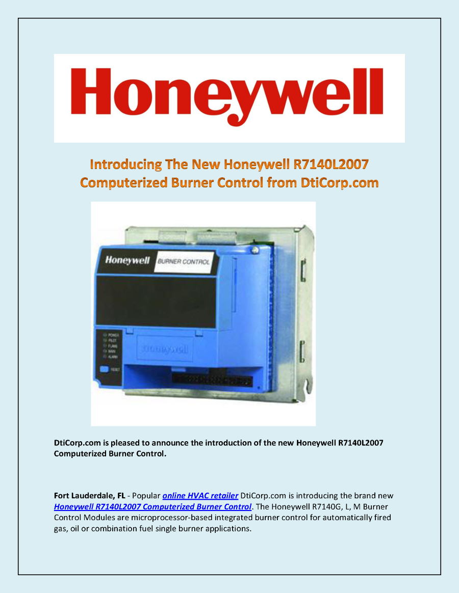 Honeywell To Make Connected Guest Presentation At HITEC In New Orleans