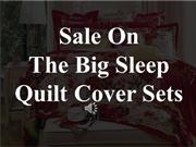 The Big Sleep Quilt Cover Sets