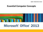 Office2013_Essential Computer Concepts