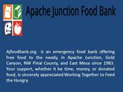 Apache Junction Food Bank - Apache Junction Food Bank