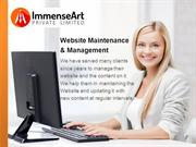Website Maintenance & Management