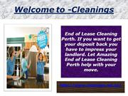Cleanings- End of lease cleaning Perth-Vacate Cleaners Perth