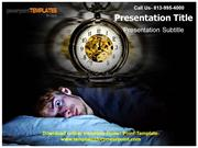 Download online Insomnia Powerpoint Template and Background