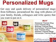 Personalized Mugs - Coffee Mugs - Photo Mugs - Gifttones