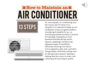 Maintain Your Air Conditioner - 13 steps