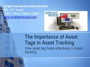 Effectiveness of asset tagging and asset tracking