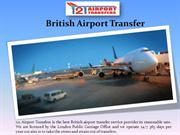 Cheap British Airport Transfers Service
