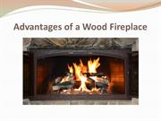 Advantages of a Wood Fireplace