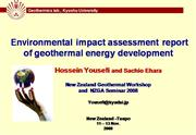Environmental Impact Assessment of Geoth