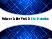 DDoS Protection Protecting Against The DDoS Attacks Since 2007