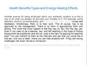 Health Benefits Types and Energy Healing Effects