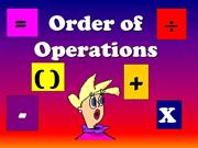 Order-of-Operations