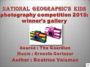 National  Geographic's  kids photography competition 2015