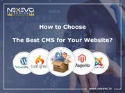 How to Choose the Best CMS for Your Website
