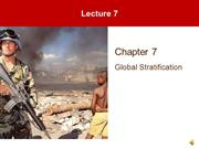 Lecture 7 - Global Stratification