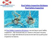 Pool Safety Inspection Brisbane Pool Safety Inspection