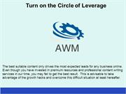 Turn on the Circle of Leverage