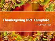 FREE Thanksgiving PPT Template