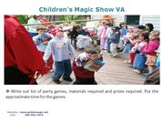 Children's Magic Show VA
