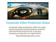 Corporate Video Production Dubai