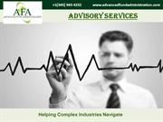 The one stop solution for all your concerns regarding Advisory service