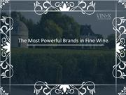 Which are the most powerful brands in fine wine world?.