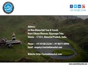 Best Hill Stations Tours in India