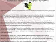 Southern Glove Introduces New Arctic Gripper Thermal Gloves