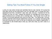 Dating Tips You Must Follow If You Are Single
