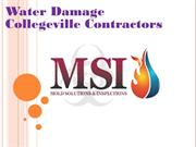 Water Damage Collegeville Contractors