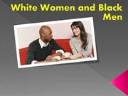 White Women and Black Men