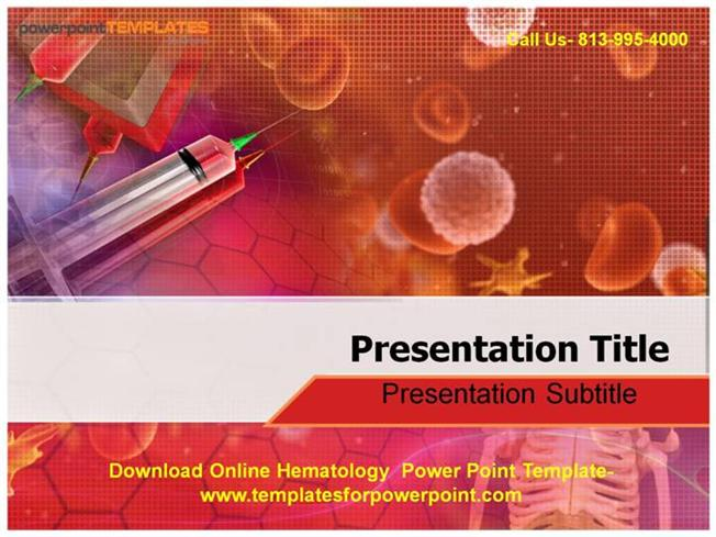 download online hematology powerpoint template authorstream