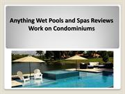 Anything Wet Pools and Spas - Professional Pool Repair Company