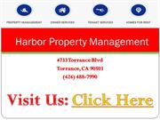 Torrance Property Management - Harbor Property Management