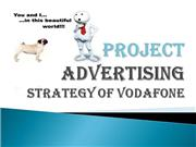 advertising strategy of  vodafone
