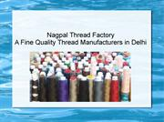 Fine Quality Thread Manufacturers India