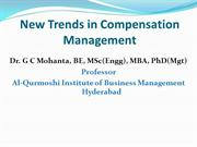 New Trends in Compensation Management