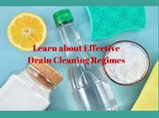 Effective Drain Cleaning Technique You Must Know