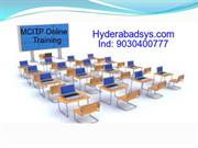 MCITP Online Training | MCITP Training in India.