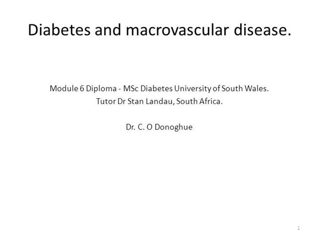 Main macrovascular disease and diabetes powerpoint laymans version main macrovascular disease and diabetes powerpoint laymans version authorstream fandeluxe Image collections