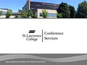 St. Lawrence College Conference Services