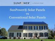 SunPower® Solar Panels vs Conventional Solar Panels