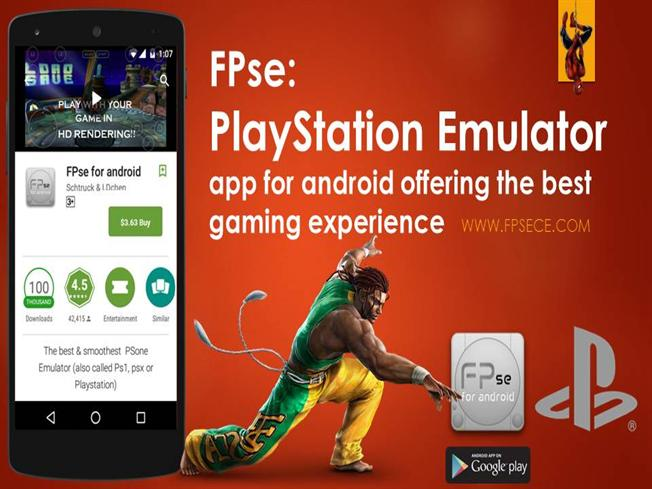 Fpse Playstation Emulator for Android Offering Best Gaming Experie