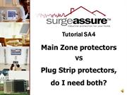 APT & Surge Assure Tutorial SA4 - Main Zone VS Plug strips