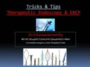 Therapeutic upper GI endoscopy