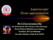 Principles of laparoscopic tissue approximation