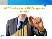 BPO Services for NBFCs in India