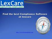 Find the best Compliance Software at lexcare
