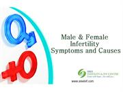 Male & Female Infertility Symptoms and Causes