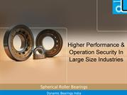 Quick assembly spherical roller bearings